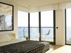 Habitacion principal luminosa por ventanales