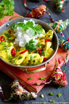 This mango, chilli, ginger and coconut chicken is a perfect weekday dinner treat. Quick and easy, yummy, kosher, gluten-free and suitable for non-dairy diet. Try it - you'll love it too :-)