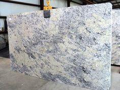 White Ice Granite Slab 723.