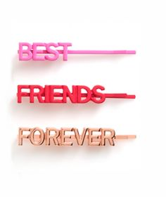 do Bobbi Set, Girl Talk Best Friends Forever, 3 Count * Learn more by visiting the image link. Best Friend Quotes, Best Friend Gifts, Gifts For Friends, My Best Friend, Bff Gifts, Girl Gifts, Gifts For Your Girlfriend, Gifts For Brother, Best Frends