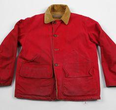 1950s SAF-T-BAK Reversible Canvas Hunting Jacket