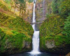 Multnomah Falls - Oregon's  tallest waterfall