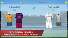FIFA 15 Soccer Ultimate Team – zrzut ekranu