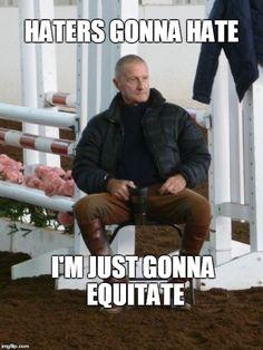 Equestrian Ryan Gosling