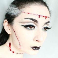I'll try my luck 🎃 @sigmabeauty #sigmahalloween  #mua #makeup #makeupartist #halloween #motd #undiscovered_muas #mua_nina #batalash #ssssamanthaa #dominiqueldr #marioncameleon #frenchtouchofmakeup #loismua #leighdicksonartistry #naye0na #sebastienmua #frankenstein #halloweenmakeup #costume #beauty #bblogger #fbloggersuk #blogger #sigmabeauty