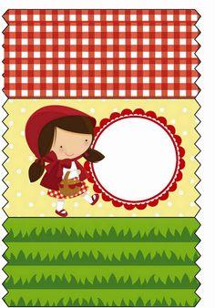 Tudo Festas: Kit Chapeuzinho Vermelho