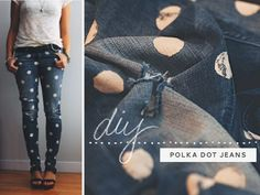 dotty jeans diy