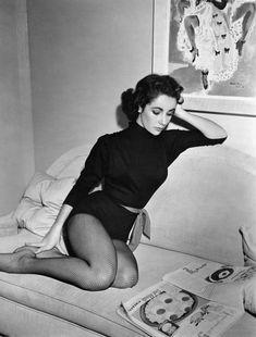 Elizabeth Taylor Through the Years in All Her Classic Hollywood Glory Photos   W Magazine