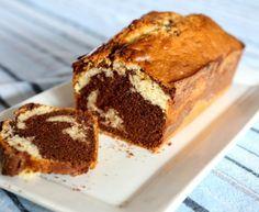 Délicieux marbré au chocolat au lait : Recette de Délicieux marbré au chocolat au lait - Marmiton