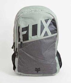 Fox Throttle Backpack - Women's Bags in Sage Birthday Gifts For Boyfriend, Boyfriend Gifts, Motocross Outfits, Fox Purse, Green Backpacks, Fox Racing, Zipper Bags, Backpack Bags, Women's Accessories
