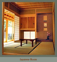 Tatami floor, slidin