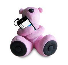 Teddy Bear stereo speakers