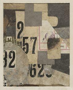 """retroavangarda: """" Kurt Schwitters – Mz 426 Figures, 1922 """""""