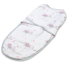 Baby Swaddler with Snaps by Aden & Anais For the Birds Print