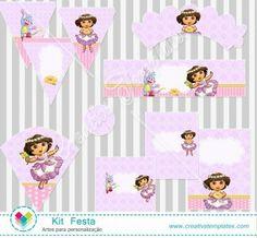 Kit festa Dora Aventureira mod:121