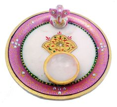 Marble puja thali for this diwali with 27% discount buy from #craftshopsindia