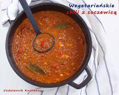 Wegetariańskie chili z soczewicą