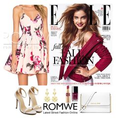 """""""Romwe 8"""" by amra-f ❤ liked on Polyvore featuring moda, MICHAEL Michael Kors, Chanel y Yves Saint Laurent"""