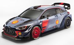 Hyundai i20 Coupe WRC, 2017. The new car with which Hyundai Motorsport will compete in the 2017 FIA World Rally Championship (WRC)