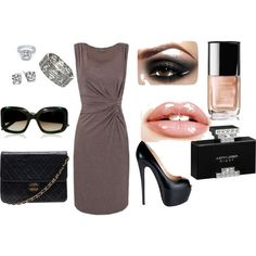 Business Woman, created by lily-pdx on Polyvore