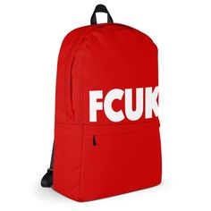 FCUK Red Backpack (Limited Edition)