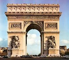Architectuur gebouw 2 #arc de triomphe