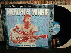 "Memphis Minnie ""Moaning The Blues"" 1930-35 Recordings, Vinyl Record LP"