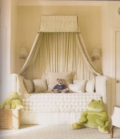 Gorgeous girly bedroom , the two girls would like this