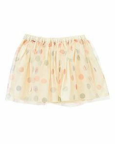 Polka Dot Tulle Skirt sale $10