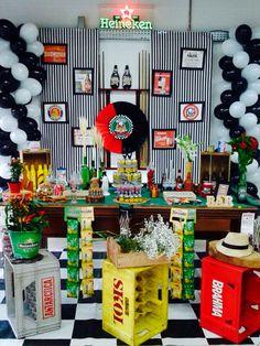 Festa Boteco bar ideia