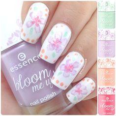 Primavera a portata di mano :) #nailart #flower