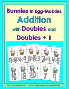 Bunnies Addition - Doubles and Doubles +1