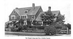 The Thomas Nash residence designed by himself c. 1906.