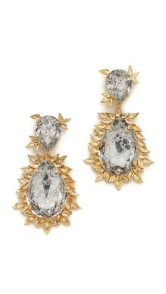 Joanna Laura Constantine Embellished Drop Earrings