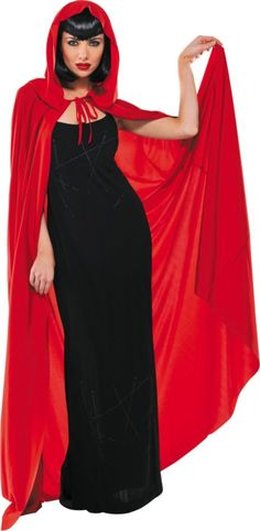 adult red hooded cape 1999 ruby from once upon a time cosplay halloween costume ideashappy halloweenhalloween - Halloween Costumes With A Cape
