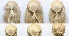 Easy hair style!....