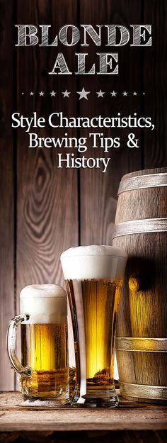 Good site to learn more about a beer style and links to other beer styles as well. Blonde Ale, Cheap Beer, Pinterest Crafts, Craft Beer, Pinterest Christmas Crafts, Home Brewing