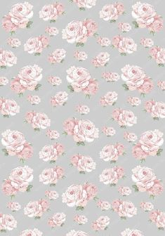 Possibly use for wallpaper in a room. Vintage Flowers Wallpaper, Flowery Wallpaper, Kawaii Wallpaper, Cute Wallpaper Backgrounds, Tumblr Wallpaper, Love Wallpaper, Cute Wallpapers, Cellphone Wallpaper, Iphone Wallpaper