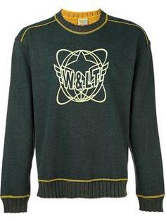 34099468cb2c14 front print sweatshirt Walter Van Beirendonck Vintage