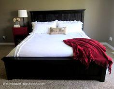 Wood Pallet Bed!  Tutorial included... {simplykierste.com}