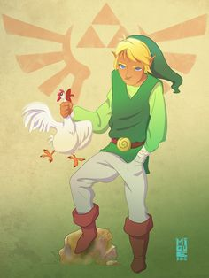 Link!, new character for Character Design Challenge.