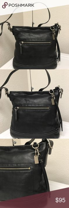 Coach crossbody Great bag that has minor dirt inside and outside in good condition no tear or hole noted. Coach Bags Crossbody Bags