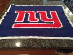 New York Giants Baby Blanket https://www.etsy.com/listing/274291890/new-york-giants-baby-crochet-afghan