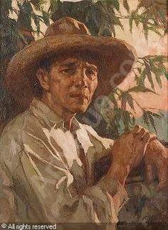 AMORSOLO Fernando Cueto,Portrait of a Filipino man,Bonhams,London Filipino Fashion, Filipino Art, Philippine Art, Philippines Culture, Man Sketch, Filipiniana, Art Pictures, Art Pics, Oil Portrait