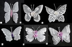 Butterfly embelishments II by WangoArt on Etsy, $2.00