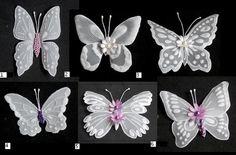 Butterfly embelishments II by WangoArt on Etsy, $2.00