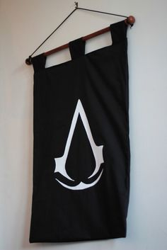 Assassin's Creed Banner. £15.00, via Etsy. --> for his man cave