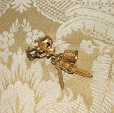 antique French fashion doll watch chatelaine | 0104.3L.jpg?97