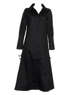 Sale Clearance 60% Off Poizen Industries Envy Coat Long Gothic Last One To Clear BIG SALE NOW ON AT mouseyessim on ebay