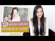 TOP 7 MÁSCARAS QUE DEIXAM O CABELO INCRÍVEL EM 5 MINUTOS!!! por Julia Doorman - YouTube